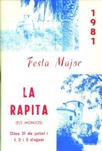 Programa FM 1981.